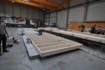 Beton Holz Hybridwand