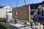 Holz-Beton Hybridwand