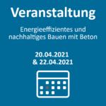 Webseminar: Energieeffizientes und nachhaltiges Bauen mit Beton